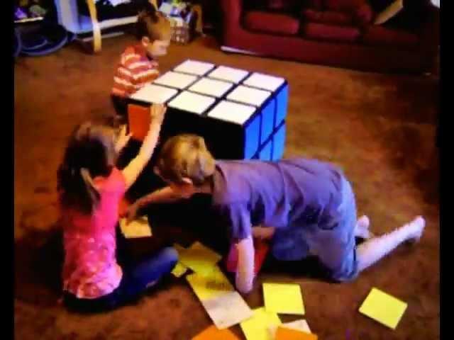 Rubiku0027s Cube Chest Of Drawers