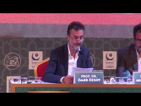 Ömer Özsoy   Kuran Vahyi Sempozyumu konuşması