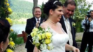 Rusty & Amanda's Wedding 3 - The Kiss