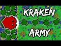 100 KRAKEN ARMY VS SERVER BOSSES !! / AMAZING NEW MOPE.IO RIVERS & BOTS UPDATE! - iHASYOU