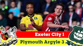 Exeter City 1-3 Plymouth Argyle (21/2/15) - Sky Bet League 2 Highlights 2014/15