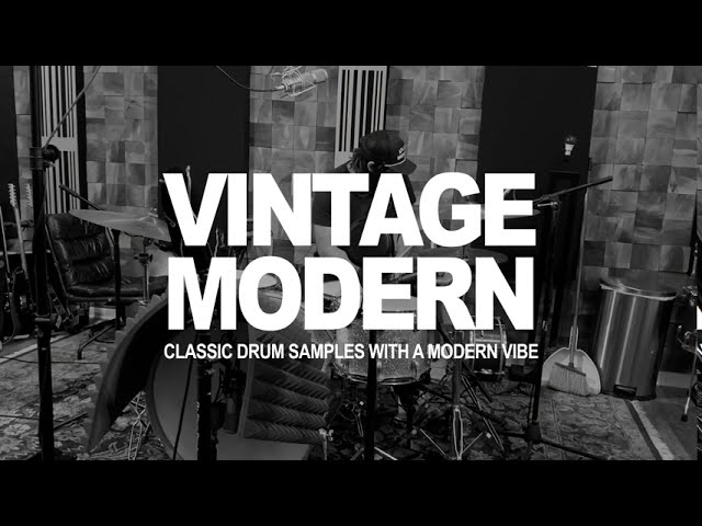 CULT DRUM SOUNDS: VINTAGE MODERN Drum Sample Pack