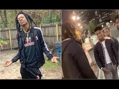 Florida Rapper Julio Foolio Runs Up On NBA YoungBoy Tries To Get Him To Tap In