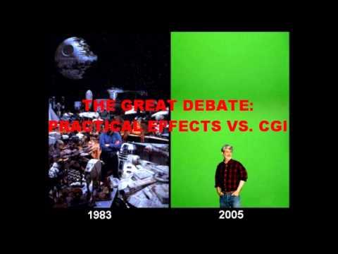 THE GREAT DEBATE: PRACTICAL EFFECTS VS. CGI