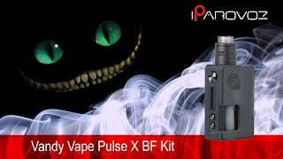 Vandy Vape Pulse X BF Kit Огляд. Накидали няшек