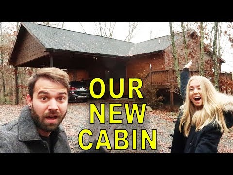 OUR NEW LOG CABIN (HOUSE TOUR)