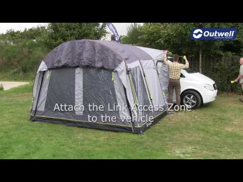 How to pitch an Outwell Smart Air Drive-Away Awning | Innovative Family Camping