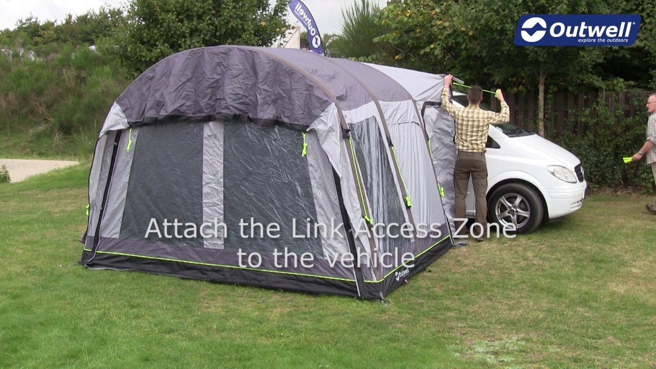 How To Pitch An Outwell Smart Air Drive Away Awning