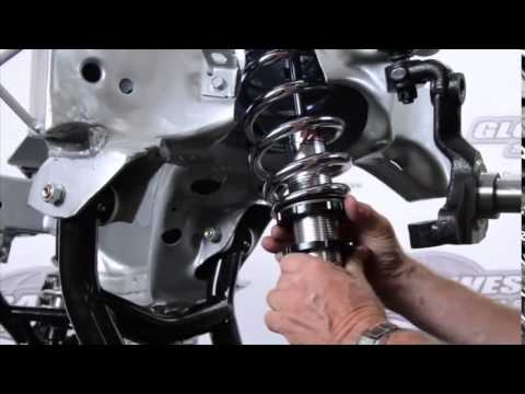 1964-1972 Chevrolet Chevelle Global West How to Install a Front Coil Over System Spring Shock