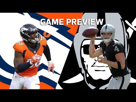Von Miller & the Broncos vs. Derek Carr & the Raiders | Hype Trailer (Week 9) | NFL