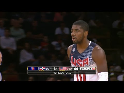 Kyrie Irving Full Highlights 2014.08.20 vs Dominican Republic - 12 Pts, 5 Assists