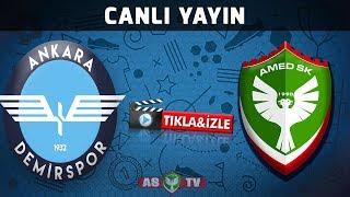 Ankara Demirspor - Amedspor (HD Canlı Yayın)