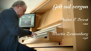 Gambar cover GOD ZAL ZORGEN - tekst André F. Troost - Als het coronavirus dreigt...