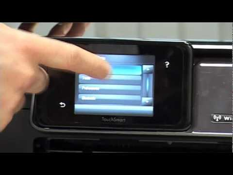 Hp Photosmart Printer Wireless Networking Guide Youtube