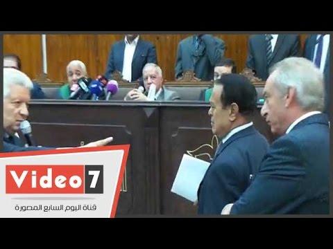 بالفيديو..مرتضى منصور لوالد 'سيد مشاغب ': ' إبنك مجرم وروح ربيه '