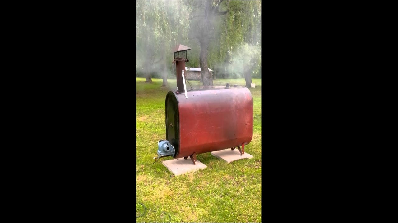 Homemade Incinerator Youtube
