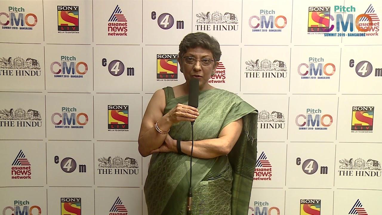 Preeti Reddy at Pitch CMO Summit, Bangalore