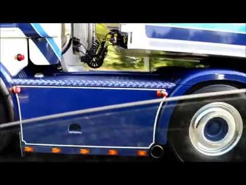D'Hoine et Fils Scania R730 V8 - sound