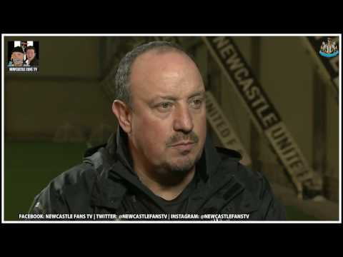 Alan Shearer & Rafa Benitez interviews | Thoughts on the season so far