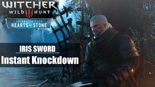 Witcher 3: HoS - Olgierds Epic IRIS sword action sequences (Instant knockdown & Kill)