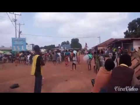 Long Devil Dancing in saclepea city Nimba county