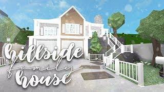 Roblox | Bloxburg: Family Hillside House | Speedbuild