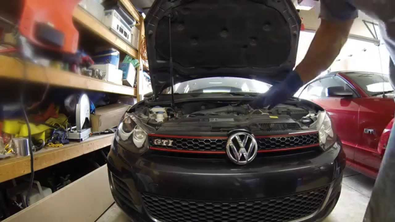 2017 Vw Gti Oil Change