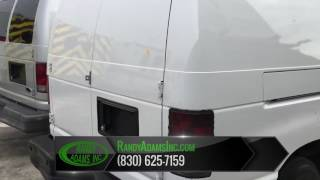 2012 Ford Three Quarter Ton Cargo Van New Braunfels, TX | Randy Adams Inc New Braunfels, TX