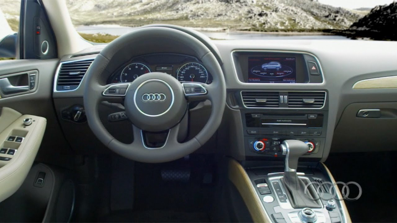 2013 audi q5 interior youtube. Black Bedroom Furniture Sets. Home Design Ideas