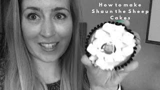 How to make Shaun the Sheep Cakes #RachybopCooks