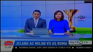 LUCU BANGET Presenter Cantik Metro Siang Sendawa