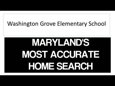 Homes For Sale around Washington Grove Elementary School District Washington Grove Maryland