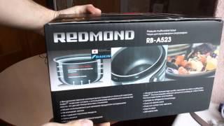 Обзор чаши для мультиварок REDMOND RB-A523