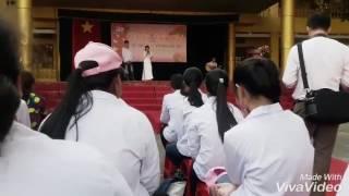 Guitar Mẹ - Khởi My , Quách Beem - lễ tri ân của học sinh trường THPT Chí Linh khoá (2014-2017)