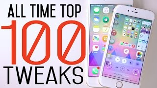 Top 100 iOS 8 Cydia Tweaks Of ALL Time - 8.1.2 Taig Jailbreak Compatible
