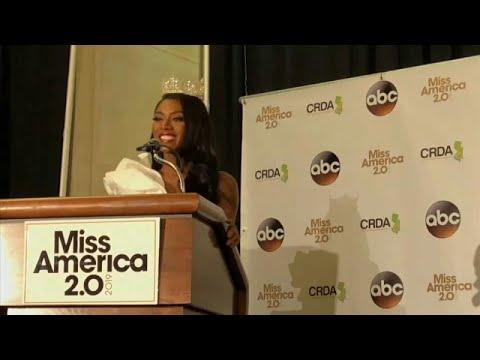 Miss América 2019 mostra os seus talentos