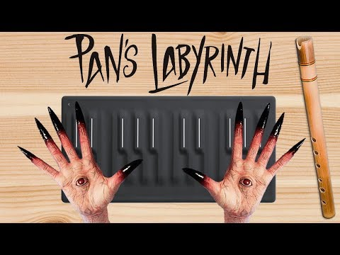 PAN'S LABYRINTH LULLABY played with PAN FLUTE sound (ROLI Seaboard Piano Cover, The Wild Conductor)