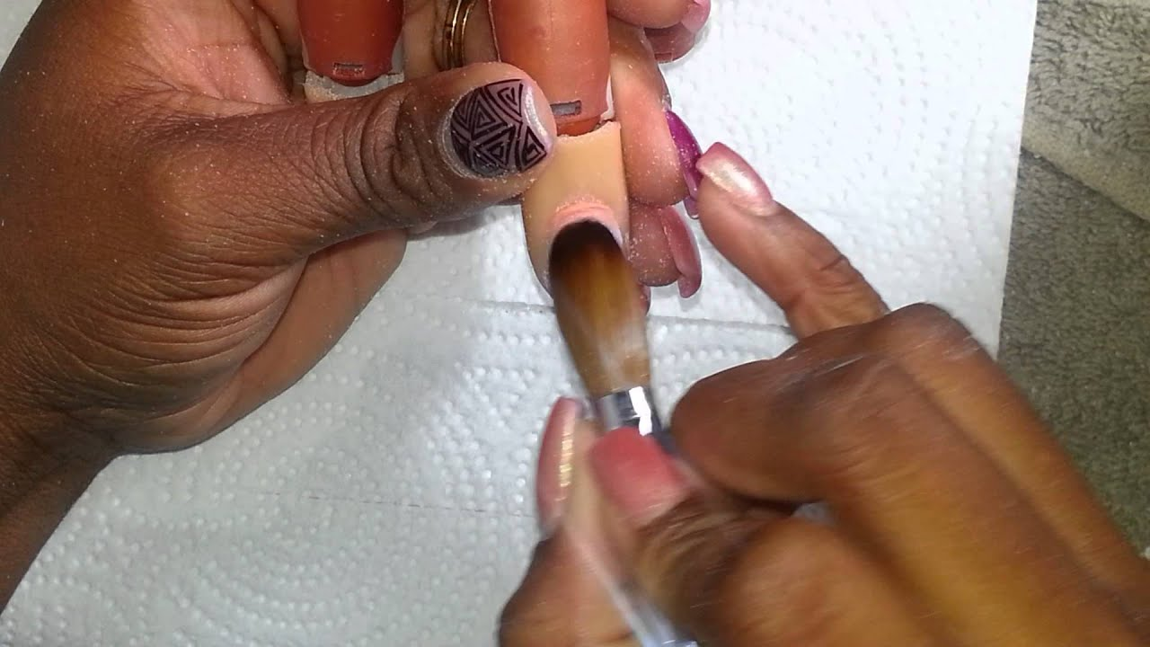 How to: Curved Eagles Claw Nails - YouTube