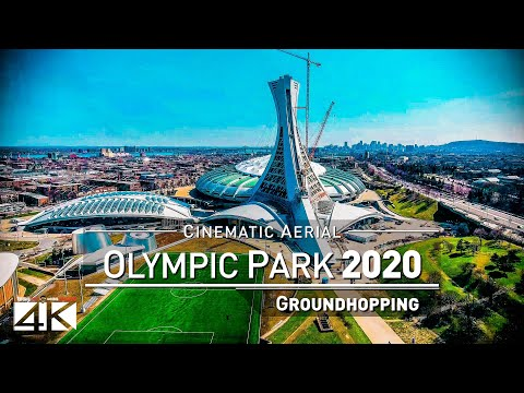 【4K】Drone Footage   OLYMPIC PARK Montreal ..:: Spectacular Arenas 2019