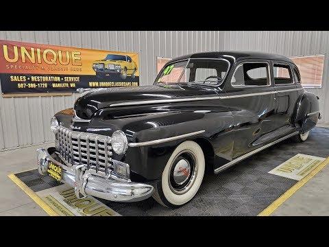 1947 Dodge D24 7-Passenger Sedan Limo   For Sale $18,900
