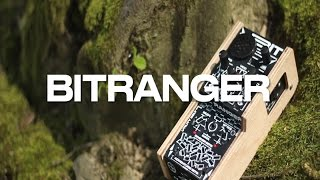 bitRanger - handheld patchable analog logic computer