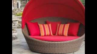 Outdoor Wicker Daybed: Wickerparadise.com