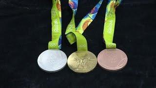 بالفيديو.. شاهد تصميمات ميداليات دورة الألعاب الأوليمبية