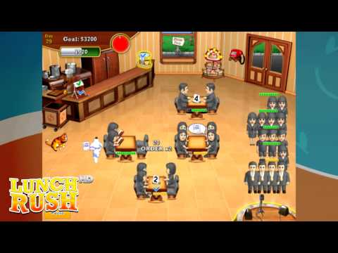 Let's Play Lunch Rush HD: Level 29 With EXPERT
