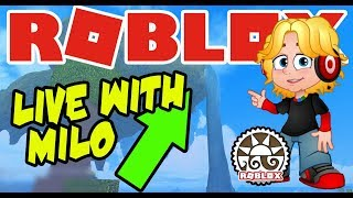 🔴ROBLOX Live - Booga Booga, Jailbreak , ROLBLOX FORTNITE and MORE!