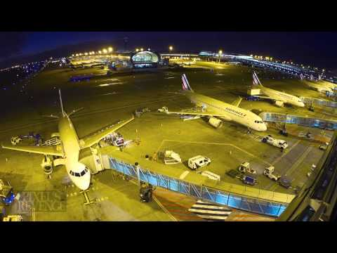 A normal Day on the ground at CDG Paris airport