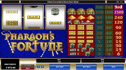 Pharaoh's Fortune ™ free slots machine game preview by Slotozilla.com