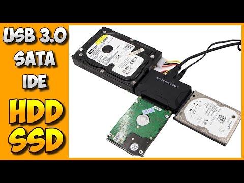 РЕКОМЕНДУЮ!!! НАДЕЖНЫЙ USB3.0 - SATA - IDE АДАПТЕР. АЛИЭКСПРЕСС