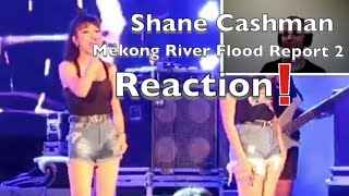 Mekong River Flood Report 2 and a night out in Bueng Kan Reaction