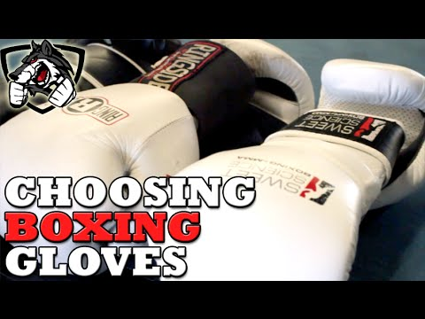 Choosing The Best Boxing Glove for You